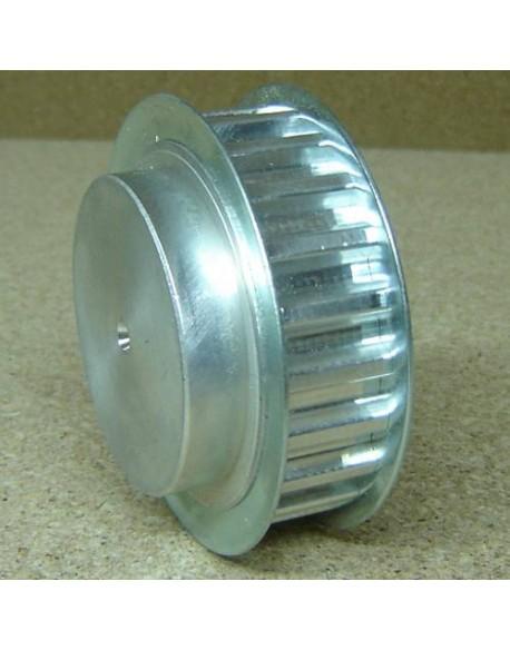 Koło pasowe zębate PDM 31T10/27-2 AL do rozwiertu
