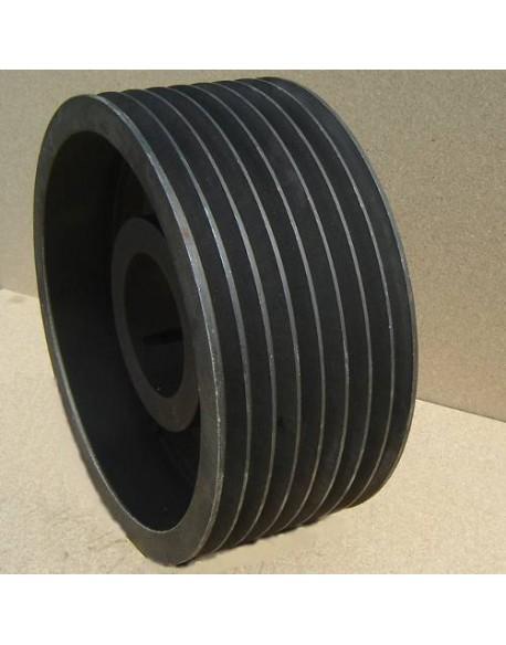 Koło pasowe klinowe SPB 630 x 8 pod taper 5050