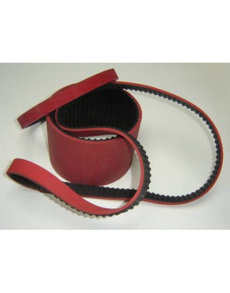 Pas zębaty zp GU L 240 + pokr. 7mm