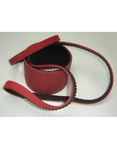 Pas zębaty zp GU T10/0630 + pokr. 7 mm