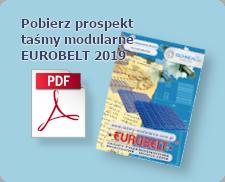 Prospekt taśm modularnych firmy Eurobelt
